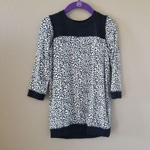 Amy Coe Skull Leopard Print Dress Tunic